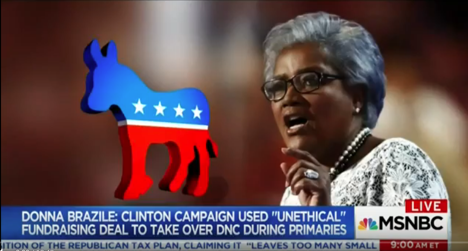 Professor on Donna Brazile's New Book on Rigged DNC